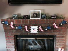 Gender reveal banner Wheels or Heels by MyEmptyNestStore on Etsy