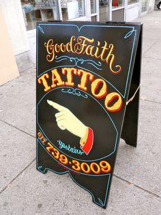 Good Faith A Frame - bestdressedsigns.com