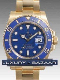 Rolex Submariner Date 116618LB Blue Dial