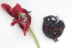 Check out this item in my Etsy shop https://www.etsy.com/ru/listing/531811807/brooch-bird-pin-bird-bead-embroidery