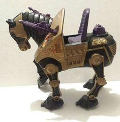 80s Vintage He Man Accessory - MOTU War Horse NIGHT STALKER by AntiquesRevived on Etsy