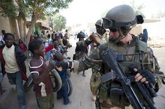 French Army Soldier in Mali
