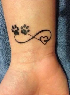 Doggie Paw Memory Tattoo - <3