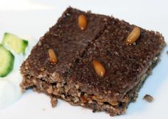 traditional kibbeh w detailed directions for making baked kibbeh