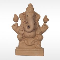Make this #GaneshChaturthi  more auspicious with this Eco-friendly Balmuri Pashankusha #GaneshIdol made with organic clay.  Get 20% off for orders on or before 1st September. Hurry Up! Limited Offer!