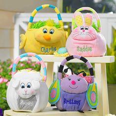 Plush Easter Basket
