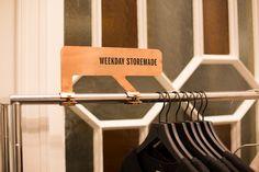 Weekday store by Gonzalez Haase, Amsterdam store design