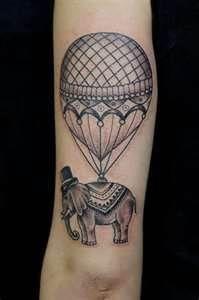 Balloon Tattoo Picture  Last Sparrow