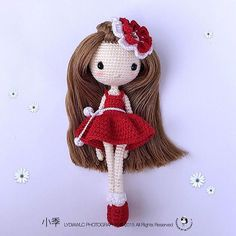 Weibo crochet activity - 小季 @ Spring look Pattern by: TCP-仰仰