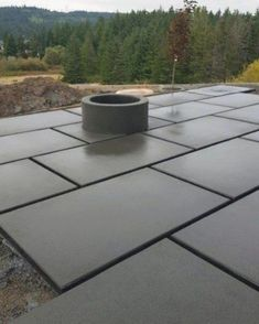 🧣⛑👠🥽⛑🥽✍️☺️🧢👝👙😘 Small Backyard Patio, Backyard Retreat, Diy Patio, Backyard Landscaping, Backyard Ideas, Concrete Patio Designs, Concrete Paving, Stamped Concrete, Amazing Gardens