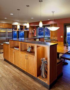 mid century modern kitchen remodels | Mid-Century Modern Kitchen - modern - kitchen - portland - by Robin ...