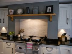 Image result for aga mantle Diy Projects Music, Aga, Mantle, New Day, Kitchen Cabinets, House, Furniture, Home Decor, Brand New Day