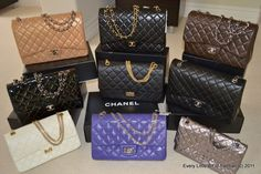 79d34a0f702f3f 9 Chanel 2.55 reissue and classic flap handbags! Louis Vuitton Monogram,  Louis Vuitton Damier