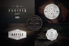 Check out Vintage Logo Set:  Volume Two by jeremyvessey on Creative Market
