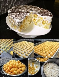 The Most Delicious And Simple Bean Mochi Cake Recipe – pastry types Köstliche Desserts, Delicious Desserts, Yummy Food, Baking Recipes, Cake Recipes, Dessert Recipes, Easy Cake Decorating, Different Cakes, Russian Recipes