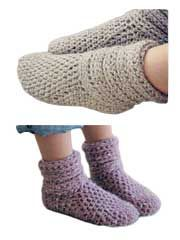 Slouch Boots Crochet Pattern Download from www.AnniesCatalog.com.