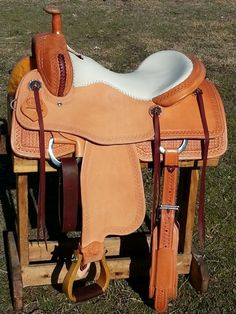 "16.5"" Spur Saddlery Ranch Cutting Cowhorse Saddle"