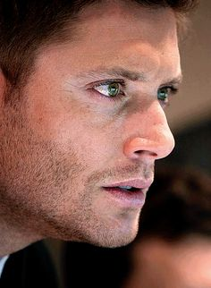 Beautiful Dean gif - 10x14 The Executioner's Song when he realizes it is Cain