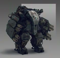 """Post your favorite non-franchise designs - """"/m/ - Mecha"""" is imageboard for discussing Japanese mecha robots and anime, like Gundam and Macross. Robot Concept Art, Armor Concept, Character Concept, Character Art, Science Fiction, Killzone Shadow Fall, Arte Robot, Futuristic Armour, Futuristic Robot"""