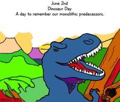 6/2 Dinosaur Day