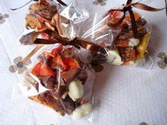 Receita de Frutas Desidratadas com Chocolate