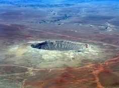 9 Stunning Pictures of Meteor Impact Craters on Earth Meteor Crater, Meteor Impact, Places To Travel, Places To Visit, Earth Photos, Amazing Nature, Geology, Science Nature, Paisajes