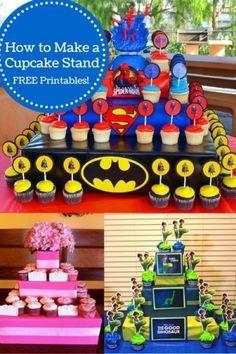 How To Make A Cupcake Stand | The Good Dinosaur | KidsMomCo