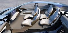 Nissan IDS Concept envisions the future of autonomous EVs - Car Body Design