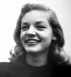 Perfectly imperfect beauty... Lauren Bacall's crooked smile and more