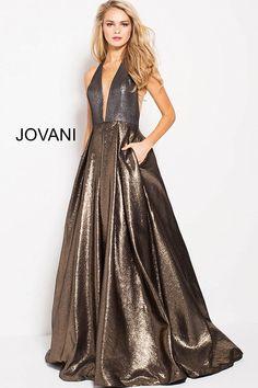 a88f084480  57237  Jovani  PromDress  Metallic  Prom2018 Metallic Prom Dresses