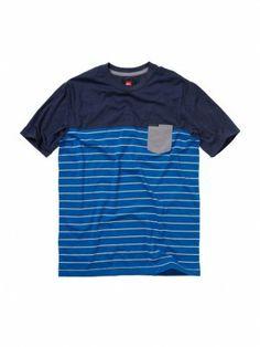 Camiseta Quiksilver Men's North Tower Shirt Blue Velvet #Camisetas #Quiksilver