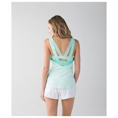 Lululemon Super Sport Tank Mint Brand new with tags. Sold out in this color online! Gives great support with 3 clasps in the back lululemon athletica Tops