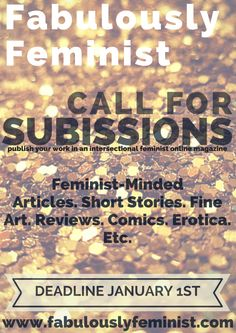 publish your work with Fab Feminist!