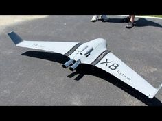 ▶ First Rc Turbine Foam X-8 In the World Maiden Flight - YouTube