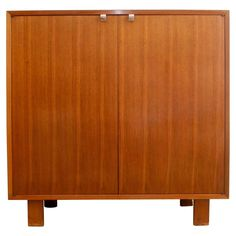 Early George Nelson Dining Server or Chest for Herman Miller | From a unique collection of antique and modern sideboards at https://www.1stdibs.com/furniture/storage-case-pieces/sideboards/