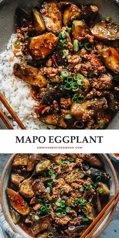 Veggie Recipes, Asian Recipes, Vegetarian Recipes, Chicken Recipes, Dinner Recipes, Cooking Recipes, Healthy Recipes, Chinese Recipes, Chinese Eggplant Recipes