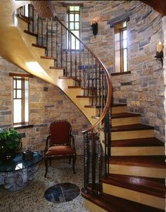 Stair Cases - traditional - staircase - minneapolis - Talla Skogmo Interior Design