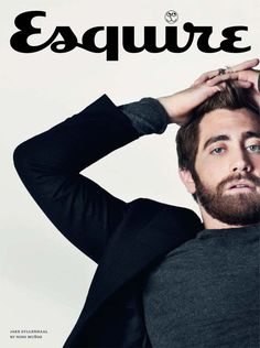 Jake Gyllenhaal in Esquire. #Cover #Magazine #Fashion #Men