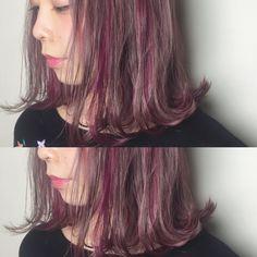 ayaka_takahashi Kawaii Hairstyles, Funky Hairstyles, Medium Hair Styles, Short Hair Styles, Cabello Hair, Hair Arrange, Aesthetic Hair, One Hair, How To Make Hair
