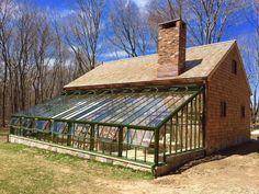 Custom built Lean To greenhouse More