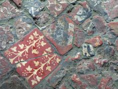 Medieval Tiles - Wenlock Priory Shropshire