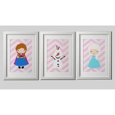 Kawaii Frozen Prints