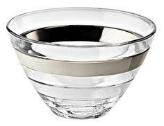 Majestic Crystal Glass Serving Bowl (Set of 6)