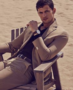 Benjamin Eidem + Garrett Neff Head to the Beach with Massimo Dutti
