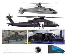 """New Sikorsky S-97 Raider similar to the mysterious Stealth """"Osama Bin Laden raid"""" helicopter?"""