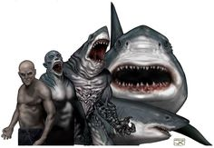Rokea are weresharks, one of the Changing Breeds of the Classic World of Darkness. The Rokea...