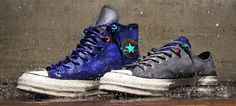 """Converse Chuck Taylor All Star """"Polartec"""": Converse unveils its latest in ingenuity: the Converse All Star Chuck """"Polartec,"""" a sneaker Converse All Star, Converse Chuck Taylor All Star, Chuck Taylors, Vancouver, Baskets Converse, Waterproof Sneakers, Mens Gear, Taylor S, Clothes Horse"""