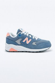 fdf15f513a0a5 New Balance - Baskets 580 bleu marine - Urban Outfitters Septembre, Urban  Outfitters, Paniers