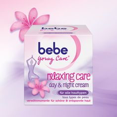 bebe Young Care® relaxing care day & night cream – die erste Gesichtscreme von bebe Young Care®, bei der sich die Haut nicht nur gepflegt, sondern auch entspannt anfühlt.