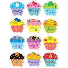 Cupcakes dibujos para imprimir gratis - Imagui